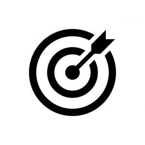 Arrow in Target - Symbol