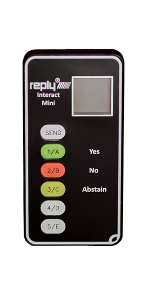 Reply Interact ini Keypad
