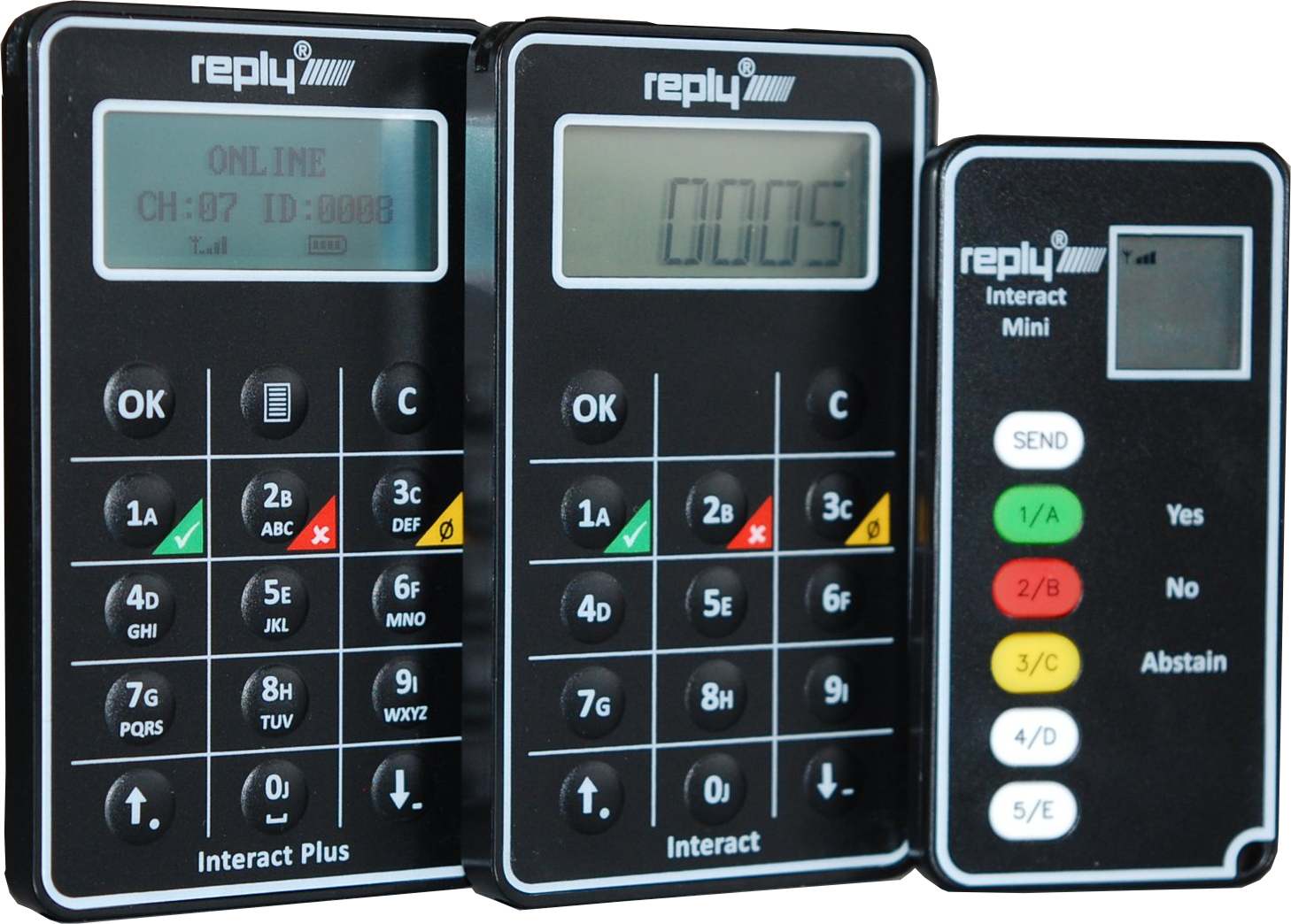 Reply Interact Series Keypads